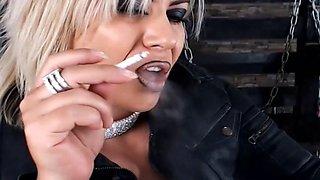Lipstick Smoking