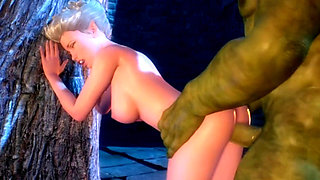 queen elf sex orc 3d