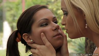Cipriana is getting punished by Kathia Nobili
