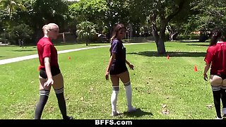 BFFS  Football Coach Fucks Horny Teens