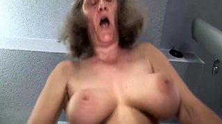 ugly busty old mom rough fucked