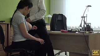 Ample brested Czech chick gets her anus fucked for money