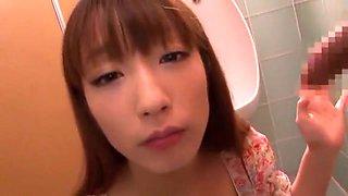 Exotic Japanese model Hina Kurumi in Amazing Blowjob/Fera, Facial JAV clip
