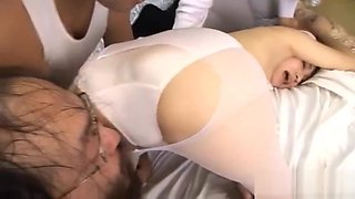 Hot nurse mika osawa fucking dildo part1