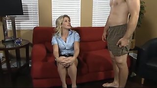 Mother and son fucks together