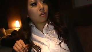 Amazing Japanese model Sayuri Meike in Hottest Threesomes, Swallow/Gokkun JAV movie
