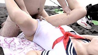 Japanese Crossdresser Amane Beach 33