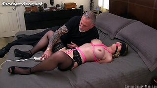 Chrissy Is Kidnapped Bound and Humiliated by Old Man