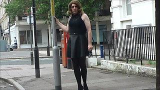 crossdressing transvestite sounding urethral god dildo 90