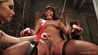 Best fetish, fisting sex movie with amazing pornstars Aiden Starr and Rose Rhapsody from Whippedass