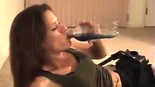 2 drunk girls with hiccups