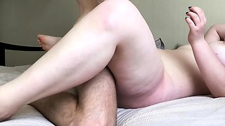 Curvaceous mature housewife pounded deep missionary style