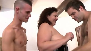 fat pig milf being abused and double fist like a slut holes