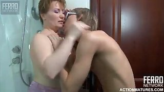 Hot mom and son
