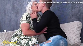 Hairy Granny Juliene Is Begging For A Creampie From Her Toyboy