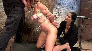 Strapon Fuck For Heavily Abused and Tied Up Gals