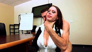Big tits pornstar punishment and creampie