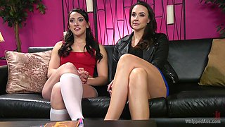 lesbian domination and sex games are more interesting with Chanel Preston