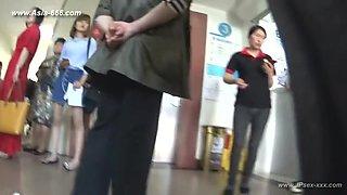 peeping chinese amateur upskirt.45
