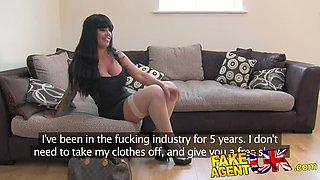 FakeAgentUK Tight pussy pornstar causes agent issues