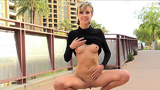 Babe fists for first time