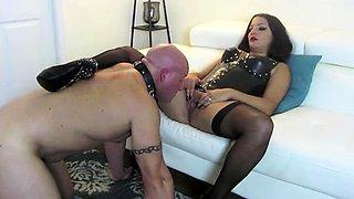 Best Mom Mistress Slave Oral. See pt2 at goddessheelsonline