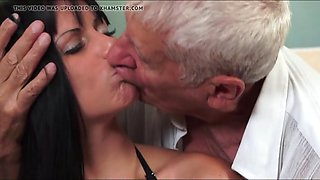 my eldest to fuck-3, cut 1 (#grandpa #old people #dad)