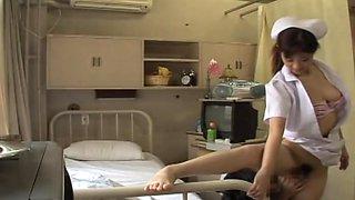 Hardcore Japanese fucking for a pretty and kinky nurse