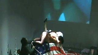 Ann Liv Young explicit performance NOS