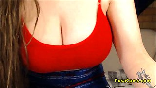 Super Cute Hairy Girl With Huge Boobs