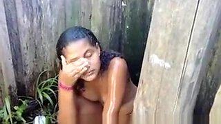 Brazilian public shower