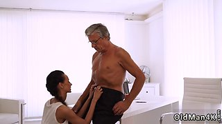 Old man fucks duddy allys step daughter first time Finally shes got her boss dick