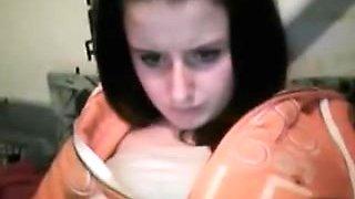 cute girl on skype