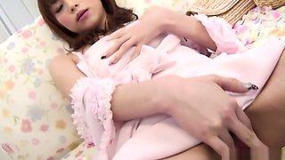 Fabulous Japanese model Miina Yoshihara in Incredible JAV uncensored Masturbation video