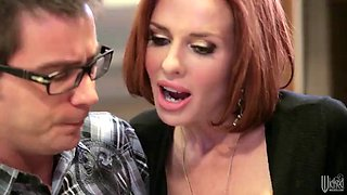 rough sex in the kitchen counter with the hot veronica avluv