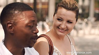 Olga Love is craving a big black cock