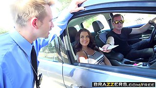 Brazzers - Brazzers Exxtra - Keisha Grey Bill Bailey and Jessy Jones -  Road Head