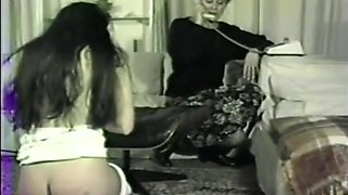 roleplay Mothers caning and spanking daughters