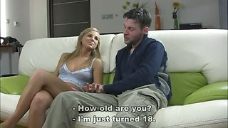Natasha loses virginity before camera - part 1