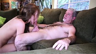 Step dad fucks friend' chum's daughter mom watches first tim
