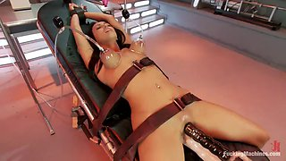 several forced orgasms for bounded breanne benson by machines
