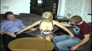 STP5 Hot Sexy Milf Takes Husband And Son In The Bar !