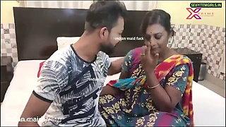 NAUKRANI, Indian Maid fucked - part 1