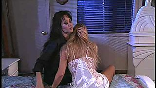 Big tits Asia Carrera licking her lesbian babe pussy