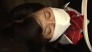 tied up japanese schoolgirl