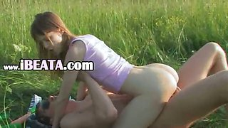 Brutal babysitters anal outdoor sex