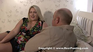 Tattooed, blonde slut is getting hammered from the back most of the times, until she cums