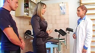 ass spanked hard and toyed segment