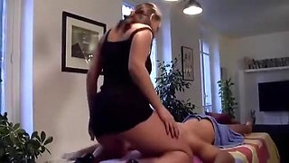 Big titted french masseuse