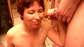 Incredible Amateur clip with Gangbang, Young/Old scenes